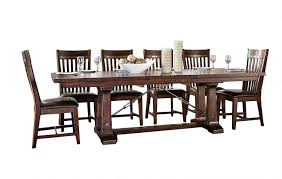 amazon intercon hayden rough sawn espresso 7 piece dining set table chair sets