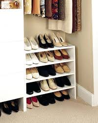 closet shoe storage ideas excellent shoe storage solutions for small spaces in home ideas closet shoe