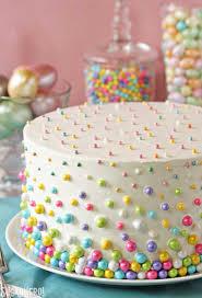 Egg Surprise Cake Design Easter Polka Dot Cake Sugarhero