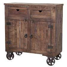 kitchen island cart on wheels with wood top rolling how to design a for rustic kitchen