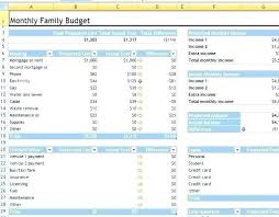Monthly Budget Template Excel – Bobotoh.club