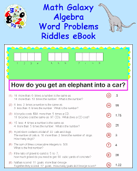 more info algebra word problems riddles ebook