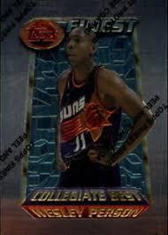 1994-95 Topps Finest Basketball #281 Wesley Person Collegiate Best | eBay