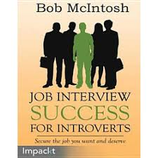 Job Interview Books Job Interview Success For Introverts Book For Sale