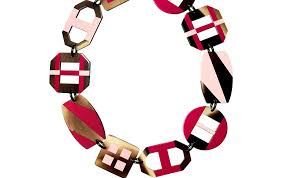 hermes horn necklace is a french look