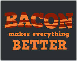 Image result for happy bacon