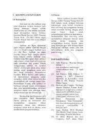 Contoh angket tertutup penelitian skripsi kualitatif format doc. Contoh Jurnal Skripsi Gunadarma