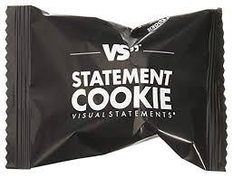 Visual Statements Statement Cookies 10 Oder 30 Schwarze Kekse Mit Unseren Beliebtesten Sprüchen In Deutsch Und Englischverpackt In Einer Edlen