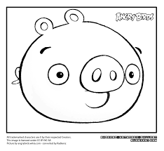 Small Picture angry birds pigs printable angry birds coloring pages for kids