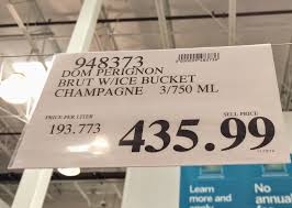 do you really know what you re eating this costco is bigger and at the hackensack warehouse where i have shopped for years these boxes hold three 750 milliliter bottles of dom perignon champagne from and a