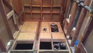 bathroom plumbing.  Plumbing Bathroom Renovation U0026 Tub To Barrier Free Shower Conversion Part  15Rough In Plumbing And Y