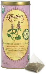 Heather's <b>Tummy Teas Organic</b> Peppermint Tea for IBS, 36 Jumbo ...