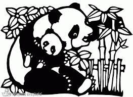 Kleurplaten Pandabeer Kleurplaten Kleurplaatnl