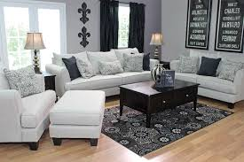 The Rachel Omega Living Room Collection in Mist