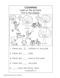 Kindergarten Readiness Print Free Worksheets Printable Winter For ...