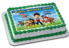 Paw Patrol cake topper grande v=