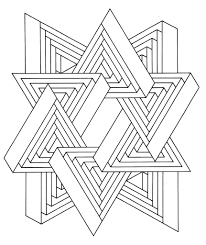 Small Picture Get the coloring page Triangles Free Coloring Pages For Adults