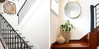 great ideas for how to decorate a staircase using gallery walls molding and more