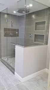 Walk In Tile Shower Bathroom White Tile Shower Pictures Charcoal Grey Bathroom Tile