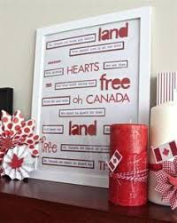 Small Picture 50 Red and White Home Decorating Ideas for Canada Day Craft