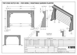 herb or vegetable garden planter