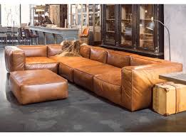 mags soft sofa in leather as seen in