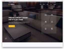 40 Free Interior Design Furniture Website Templates With Extraordinary Furniture Website Design