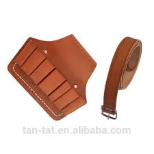 leather electricians tool bag. custom electrician cow leather tool belt pounch bag electricians