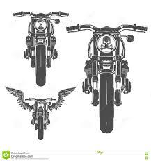 комплект эмблем логотипа татуировки и печатей стиля мотоцикла