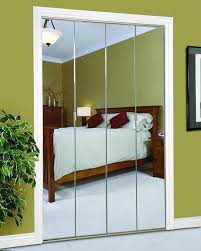 bi fold mirror closet door. Silver Mirror \u0026 Antique Gold Framework Bi Fold Closet Door R