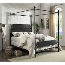 image cassic industrial bedroom furniture. Classic Industrial Bronze King Metal Canopy Bed - Maddie Image Cassic Bedroom Furniture C