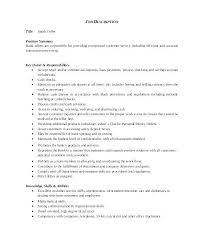 Bank Teller Job Description For Resume Adorable World Bank Resume Template Wearesoulco