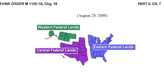 Central Federal Lands Organization Chart Fhwa Order M1100 1a Resources Federal Highway Administration