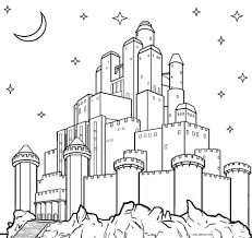 Inspirational Disney World Castle Coloring Pages Teachinrochestercom