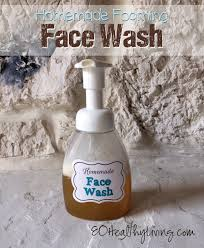 homemade foaming face wash