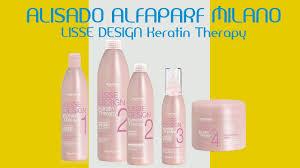 Kit Lisse Design Keratin Therapy Uniuso Alfaparf Alisado Alfaparf Milano Lisse Design Keratin Therapy