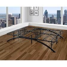 Rest Rite Full-Size Dome Arc Platform Bed Frame in Black ...