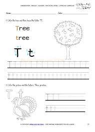 Formidable Letter T Worksheets Free Printables Forndergarten