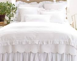 incredible white ruffle duvet cover king sweetgalas with regard to white ruffle duvet cover