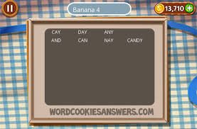 Word Cookies Banana Level 4 - Word Cookies Answers