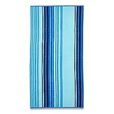 cool beach towels. Cool Stripe Beach Towel In Blue Towels