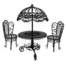 korean modern furniture dpvl. Dollhouse Outdoor Furniture. Set Black Wire Garden Umbrella Table Chair 1:12 Doll\\ Korean Modern Furniture Dpvl