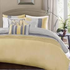 madison park selma yellow duvet cover set