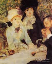 pierre auguste renoir the end of lunch oil painting reions for