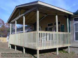 mobile home deck designs. front porch on mobile home deck designs s