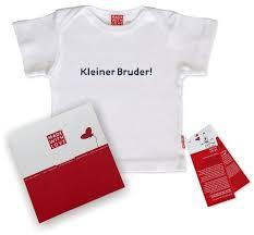 Baby T Shirt Mit Druck Kleiner Bruder