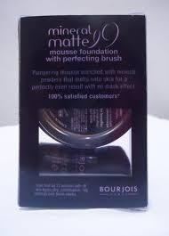 Bourjois Mineral Matte Mousse Foundation 83 Sable Fondu