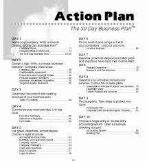 Action Plan In Pdf Unique Business Plan Format Pdf 48 My College Scout