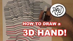 cool designs to draw with sharpie. HOW TO DRAW A 3D HAND Sharpie Markers ART ILLUSIONs EASY Step By -  YouTube Cool Designs To Draw With Sharpie N