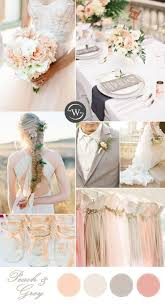 peach wedding colors. 10 Romantic Spring Summer Wedding Color Palettes for 2017 Brides